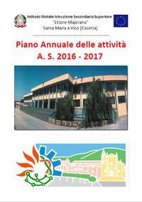Piano annuale dell attività A.S. 2016-2017