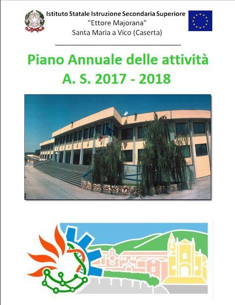 Piano annuale dell attività A.S. 2017-2018