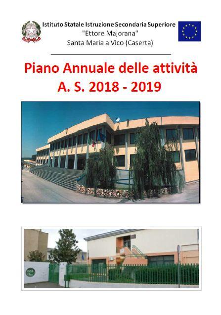 Piano annuale dell attività A.S. 2018-2019